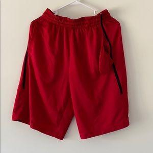Jordan Red Shorts